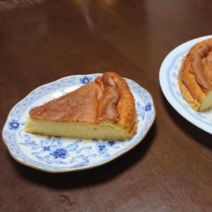 水切りヨーグルトのホエーで作るヘルシーチーズケーキ