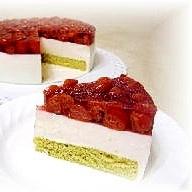 サワーチェリーのヨーグルトケーキ