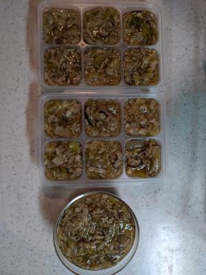 離乳食完了期〜幼児食 和風きのこソース 冷凍保存可