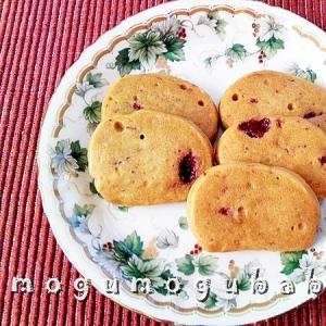 オリーブオイルで☆ソフト苺クッキー