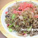黒豆幻米でたこ焼きチャ-ハン