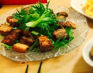 炊飯器で作る*豚の角煮サラダ