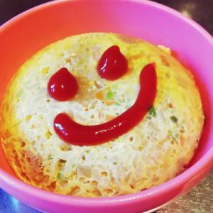 レンジで簡単オムライス 幼児食