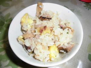 栗となんちゃって松茸の炊き込みご飯