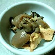 玉コンニャクの煮物