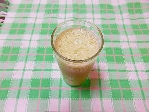りんご酢&レタス豆乳