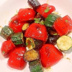 三色野菜のイタリアンポン酢和え