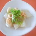 お弁当やおつまみに♪こんにゃくと竹輪の生姜炒め