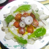 ☆★タコとつぶ貝のカルパッチョ♪★☆
