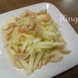 タイ料理☆リンゴのソムタム~ソムタムアップン~