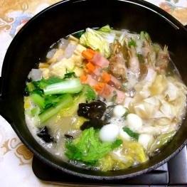 広東風コンコンとろみ鍋