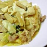 白菜と豚肉のオイスターソース炒め煮