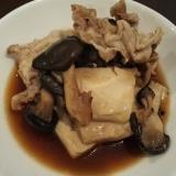 ひらたけ肉豆腐