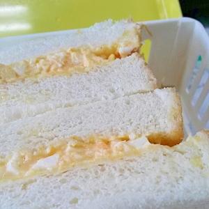 調理・片付け時短術で作る玉子サンド