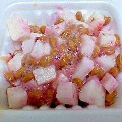コロコロ長芋の梅酢納豆