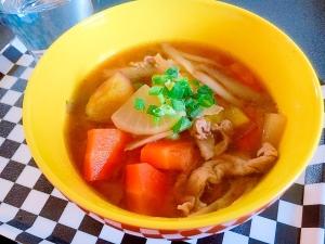 もりりんの豚汁[生姜スープ]