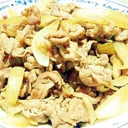 柔らかお肉でご飯がすすむ、豚の生姜焼き