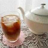 すぐに飲める本格的コーヒーをアイスでいただく