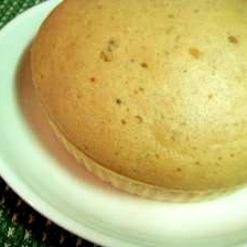 おおきなキナコ蒸しパン