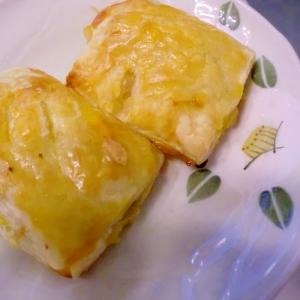 素朴な甘さ♪カボチャアップルパイ