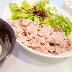 【超簡単】洋風ポン酢で食べるイベリコ豚の温しゃぶ