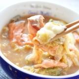 マ・ローニエプロ☆鮭と白菜のモッツァレラ味噌スープ