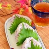 寿司飯でさっぱり☆ゆかりと大葉のおにぎり