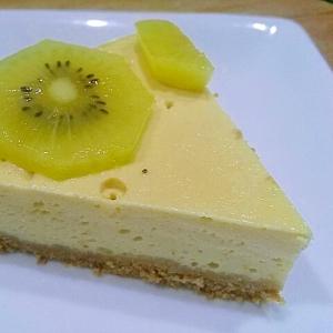 節約レシピ☆豆腐とヨーグルトのケーキ