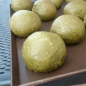 自家製酵母のコロコロ抹茶ベーグル
