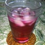 りんご酢で作るしそジュース