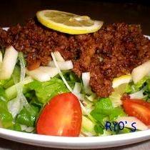 肉みそサラダ(ジャジャ麺風)
