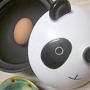 土鍋におまかせ!余熱活用温泉卵♪