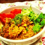 野菜たっぷりジャージャー麺