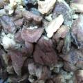 牛すじの下茹でと牛すじコラーゲンたっぷり出汁抽出