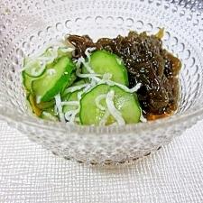 沖縄の物産☆ 「もずくの酢の物」