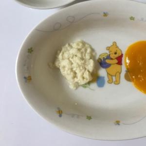 お豆腐のしたごしらえ 離乳食初期・中期