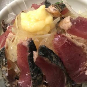 カツオと玉ねぎのサラダ