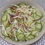 ミョウガのサラダ