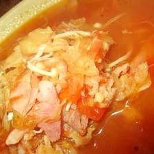 ロシアのスープ【サリャンカ】風・具沢山スープ☆