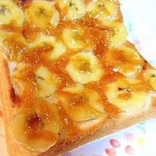みかんジャム&バナナトースト