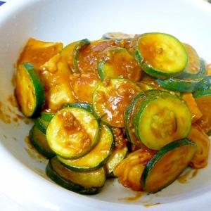 ズッキーニとトマトソースの炒め煮
