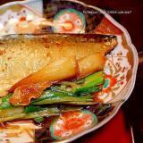 さばのピリ辛煮*煮魚