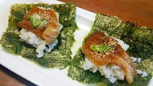 めちゃウマ‼鰻のタレで豚バラの手巻き
