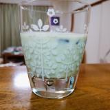 タピオカ抹茶ヨーグルトミルク