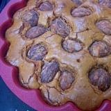 板チョコ一枚で栗の簡単チョコレートケーキ