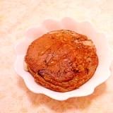 りんご風味♪お餅入り蕎麦粉のパンケーキ