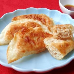 ツナと豆腐の餃子~ポン酢であっさり♪