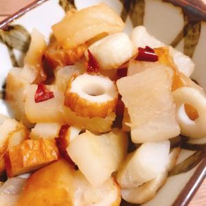 【お弁当にも!】おでんの大根とちくわのピリ辛炒め煮