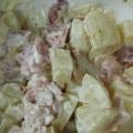 ベーコンとジャガイモのサラダ