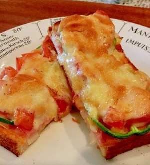 ダブルチーズのピザトースト♪